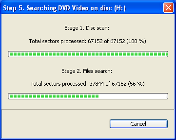 Recover DVD Video - Step 5