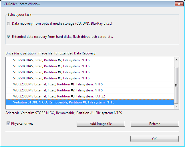 Extended  Data Recovery. Retrieves lost files from HDD, SSD, flash card, etc.