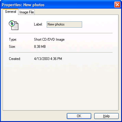 Short CD/DVD Image File