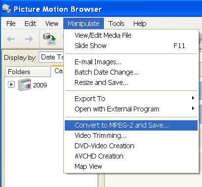 Sony Picture Motion Browser - Screen Shot 1